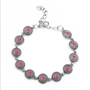 Cactus Paradise pink bracelet